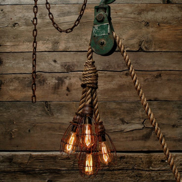 Pendant Drop Tips For Incorporating Pendant Lights Into A: Industrial Manila Rope Pendant