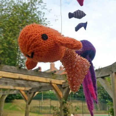Fantasy Fish Yarnstorm - Carol's Goldfish