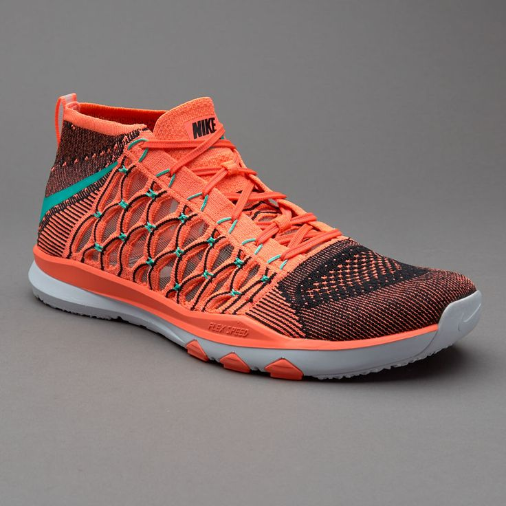 Nike Train Ultrafast Flyknit - Bright Mango/Hyper Jade