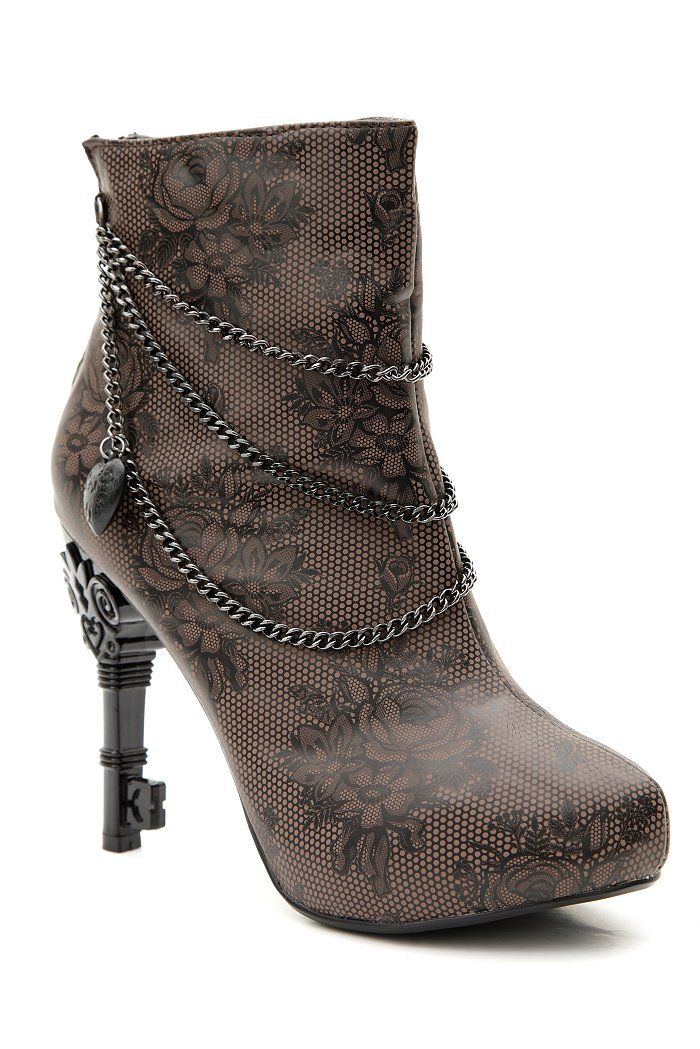 The heel is a key!!  totally cool