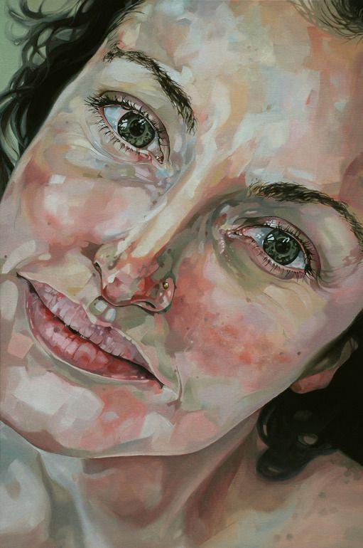 """Saatchi Online Artist: Jo Beer; Oil, 2013, Painting """"Madeleine Bridgett - Versions Of You"""""""