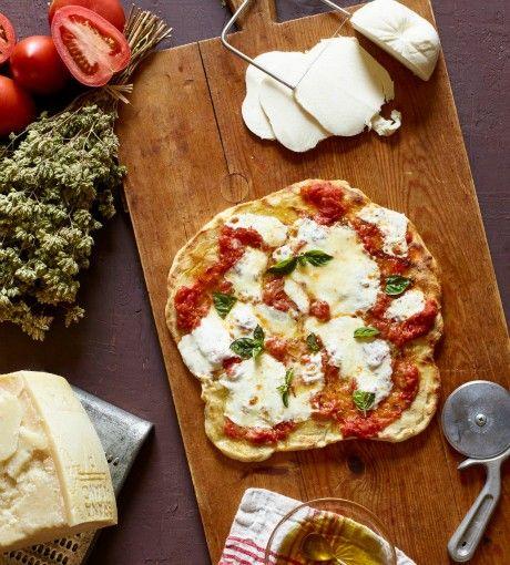Grilled pizza (Pizza alla griglia)