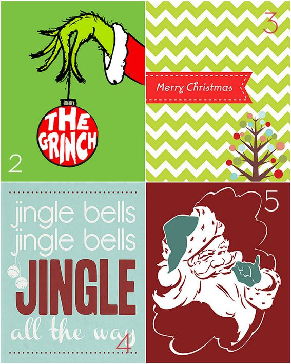 15 Free Holiday Printables Recycled By: http://diy.hiredhubby.com/