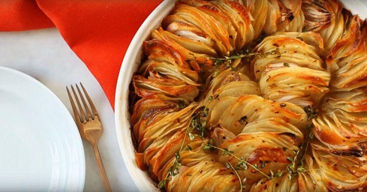 Cómo preparar unas papas crujientes en el horno. ¡Jamás has probado un plato así de sabroso -