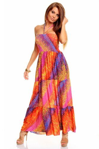 pink BOOB TUBE ladies long floral multi colour celebrity style evening maxi red pink dress pencil slim fitted bandage nice for summer cruise holiday one size 8-12 italy gownplanet http://www.amazon.co.uk/dp/B00HYMOVFC/ref=cm_sw_r_pi_dp_fu8bub143ZT6F