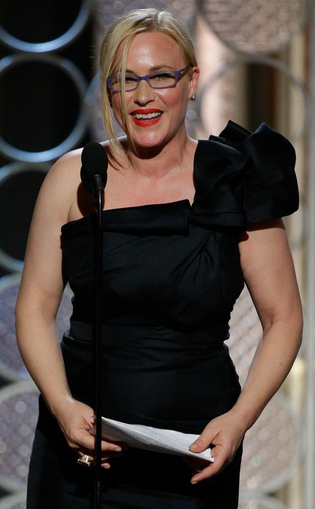 Patricia Arquette Explains Why She Never Straightened Her Teeth and Why She's Tired of Questions About Her Looks!  Patricia Arquette, Golden Globes
