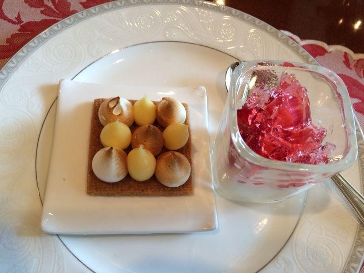 Desserts galore! At the Regent Singapore