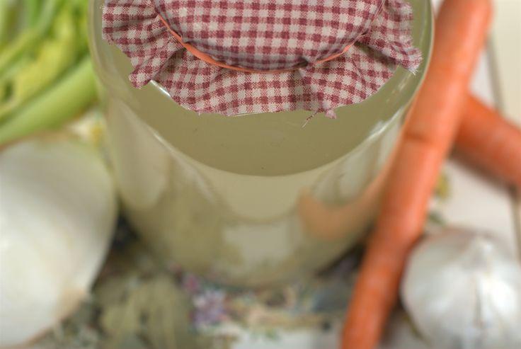 Vegetable broth - Recipe by Briana Santoro