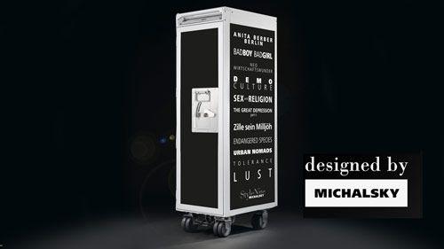 skypak trolley designed by MICHALSKY