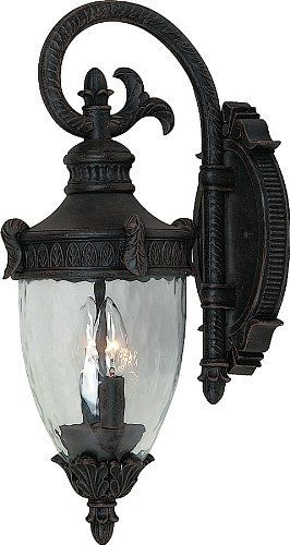 "Artcraft Lighting AC8501BZ Imperial Small Outdoor Wall Mount, Rich Bronze by Artcraft Lighting. $123.55. From the Manufacturer                Imperial small outdoor wall mount (lantern-down), with seeded ribbed glassware and in rich beautiful bronze finish. For over 50 years, ARTCRAFT has earned a reputation for excellence in home lighting products that is the envy of many companies in North America. ARTCRAFT is a ""family"" owned business with many talented and s..."
