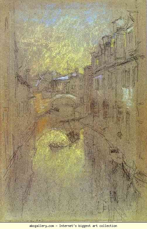 James Abbott McNeill Whistler. Winter Evening