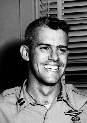 """Put up such a fight in captivity, Viet Cong executed him out of frustration. He was last heard singing """"God Bless America"""". He was later awarded the Medal of Honor"""