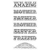 Amazing Family Clear-Mount Stamp Set - by Stampin' Up!