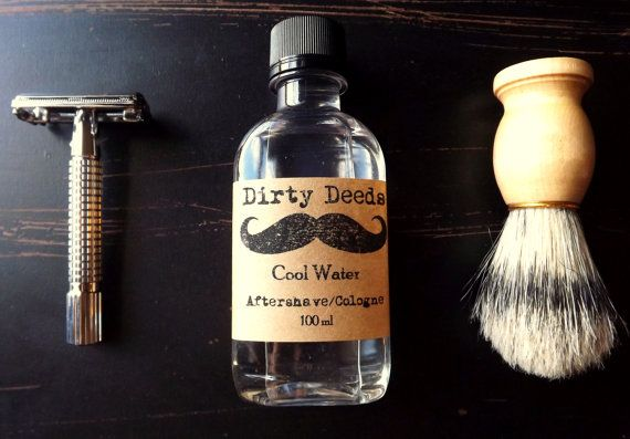 Men's Aftershave/Cologne Refill by DirtyDeedsSoaps on Etsy, $15.00