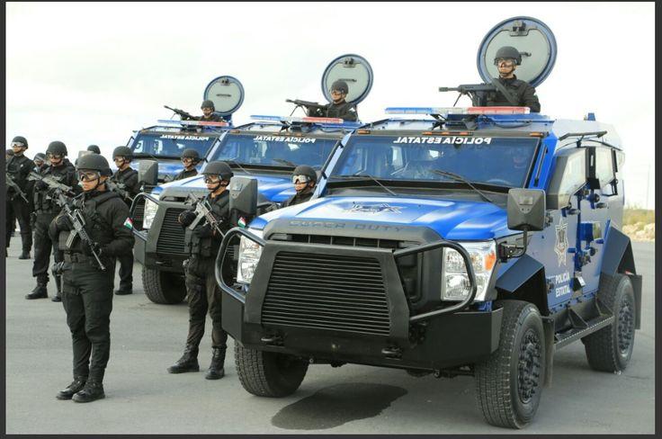 Gobierno de Tamaulipas equipa a fuerzas especiales de la Policía Estatal