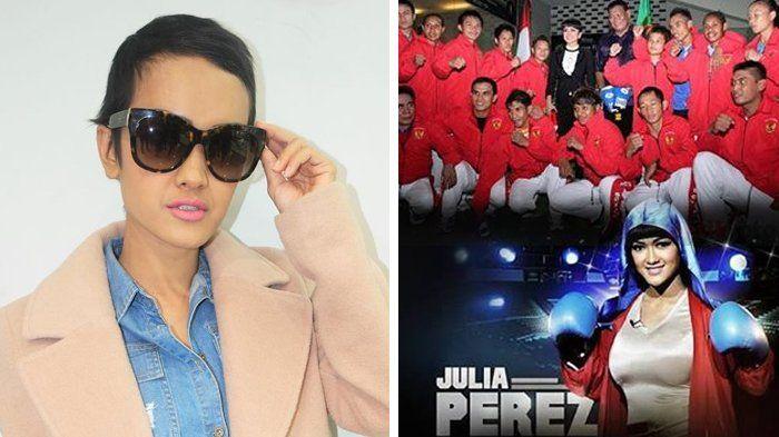 Instagram Julia Perez - Setelah Unggah Foto Sebagai Duta Catur, Kini Jupe Jadi Caraka Tinju?