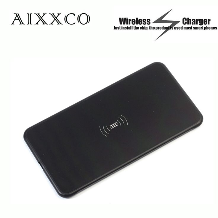 AIXXCO 5mm ultra Thin Wireless charging transmitter Qi standard Wireless charger for Samsung Galaxy S6 edge plus/Note5/S7 edge