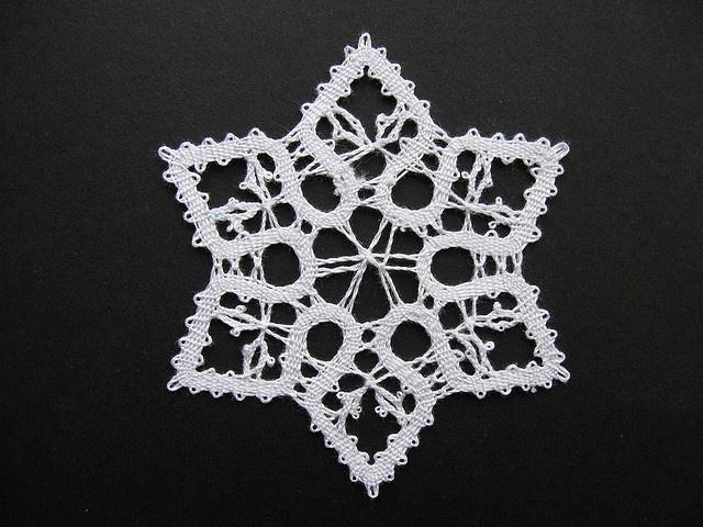 Idrija Bobbin Lace Star by Digital Leaf, via Flickr