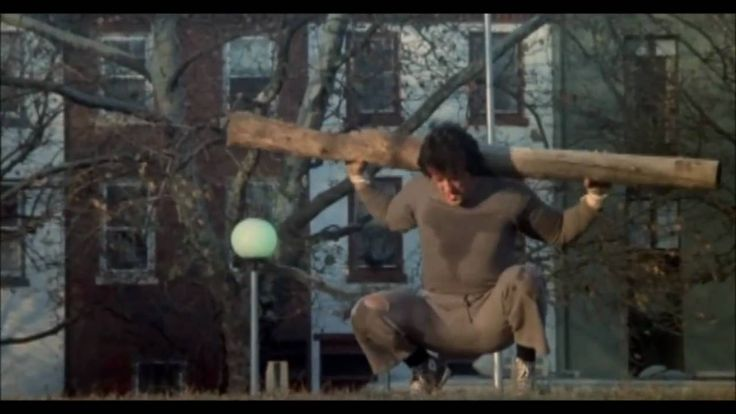 MORE INSPIRATION to NOT skip your next workout. Rocky II Training Montage HD
