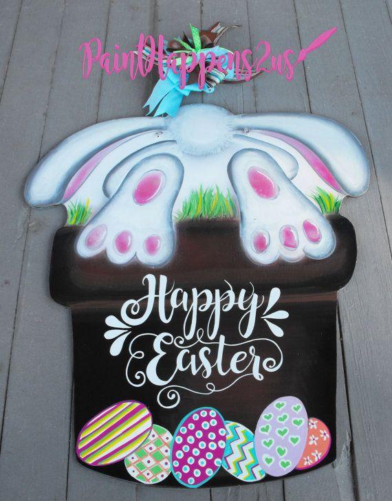 1000 Images About Easter Door Hangers On Pinterest