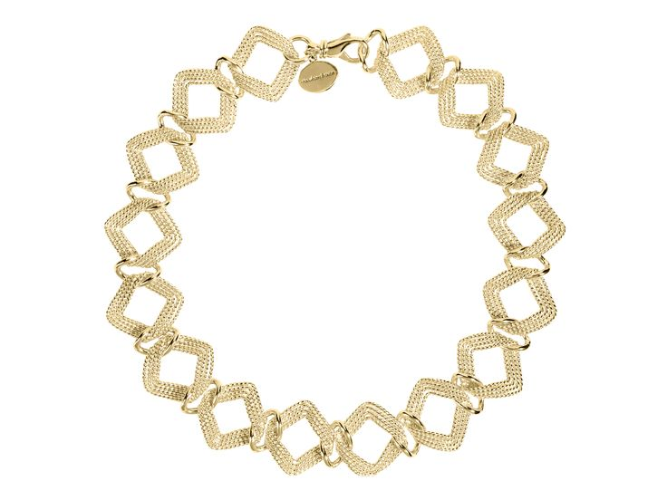 strawberry & cream ladies golden square collier
