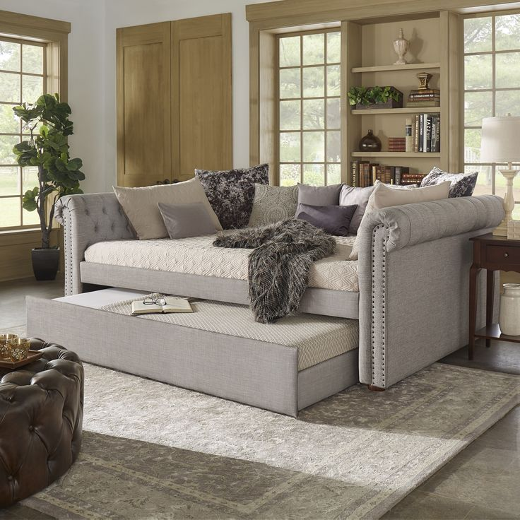 Daybed Full Size With Trundle Images