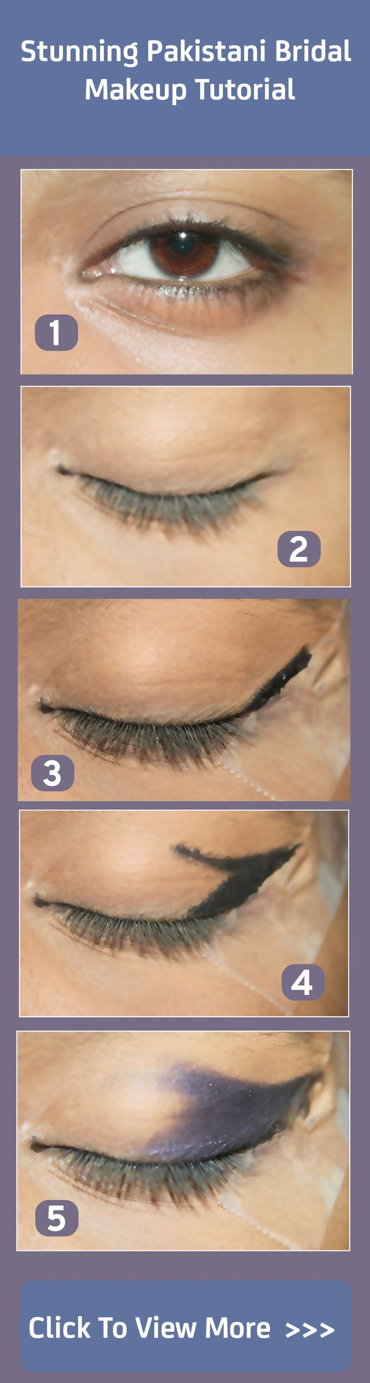 Stunning Pakistani Bridal Makeup – Step By Step Tutorial With Pictures