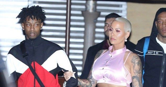 http://ift.tt/2Eyl5yU http://ift.tt/2EMPPLJ  - Amber Rose And BF 21 Savage Having Issuess On Their First Valentines Day Already:  Is everything okay? Amber Rose and beau 21 Savage looked unhappy after celebrating their first Valentines Day (Photos)  Amber Rose 34 and her boyfriend 21 Savage 25 celebrated their first Valentine's Day together and they treated themselves to a romantic dinner at Nobu in Malibu California.  But the pair looked unhappy as they made their way out from the…