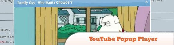 YouTube Popup Player // BEST 10 JQUERY POPUP WINDOW TUTORIALS