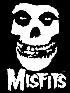 The Misfits  #band #logo