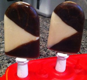 Root Beer Float Popsicles from ohmyveggies.com