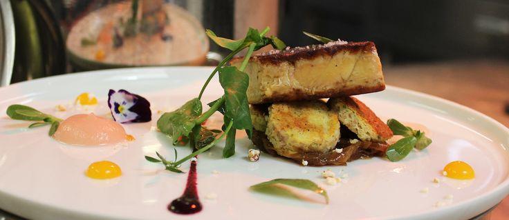 Recette du chef Hermance Carro, restaurant Le Castellaras. Comme pour les produits laitiers, nous ne conseillons pas de manger de foie gras, mais pour les inconditionnels, voici une recette plus écolog...