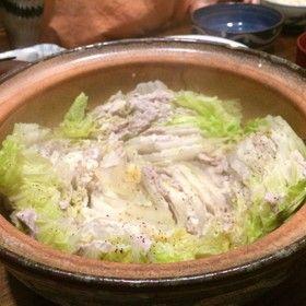 お鍋で簡単♪白菜豚バラミルフィーユ
