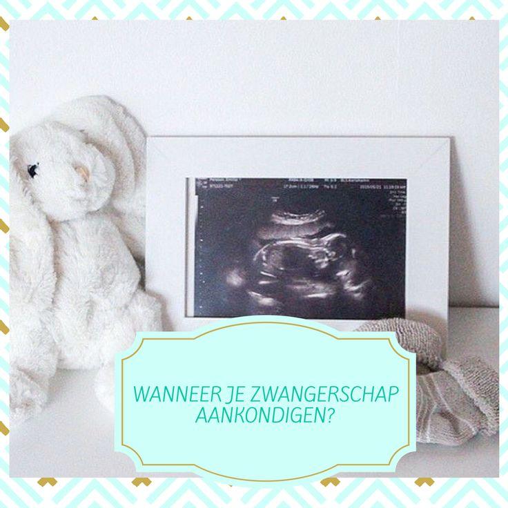 Je zwangerschap bekend maken aan je omgeving, wanneer? En hoe doe je de zwangerschapsaankondiging? Wacht je een eerste echo af of de 12 weken? De termijnecho? Ervaringen van andere die zwanger zijn! Pregnancy announcement