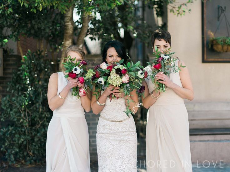 Boho Chic Marsala Bouquets Event Blog - Knot Too Shabby Events Wilmington, NC Wedding & Event Coordination - Knot Too Shabby Events Wilmington, NC Event Planning & Wedding Coordination
