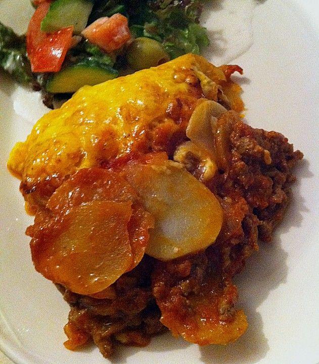 Kartoffel - Hackfleisch - Gratin