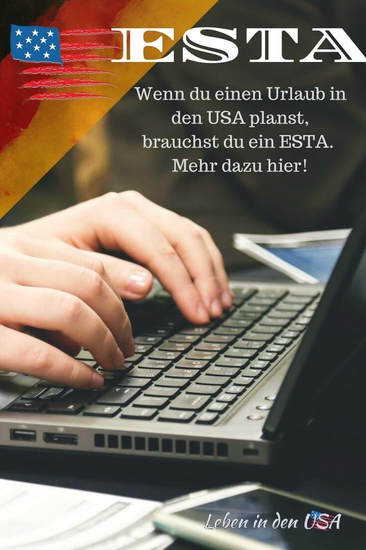 ESTA Antrag so geht es - So beantragst du deine Reisegenehmigung für die USA #esta #Nordamerika #visa