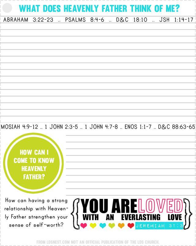 17 Best Ideas About Girls Camp Handouts On Pinterest