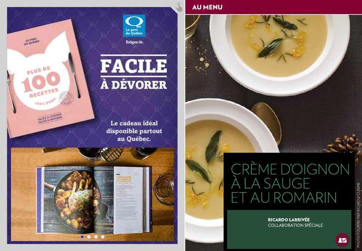 Crème d'oignon à la sauge et au romarin - La Presse+