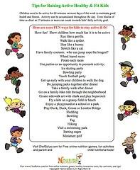 fitness worksheets kids | health & fitness | Pinterest ...