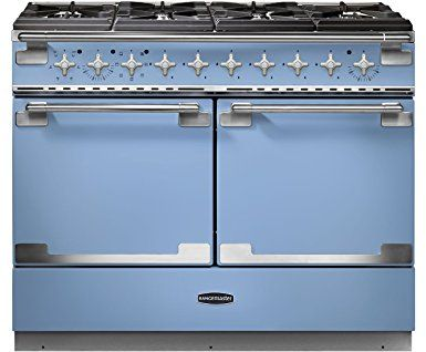 Image result for RANGEMASTER Elise 110 Dual Fuel Range Cooker - China Blue