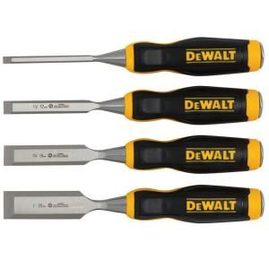 DEWALT Wood Chisel Set (4-Piece)-DWHT16063 at The Home Depot