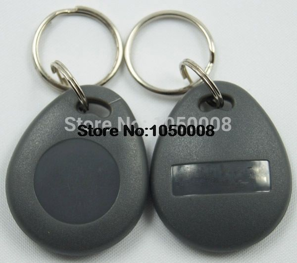 50pcs 125Khz Proximity RFID T5577 Smart Card Read and Rewriteable Token Tag Keyfobs Keychains Access Control
