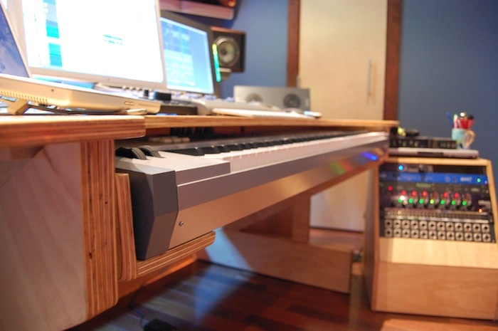 DAW desk