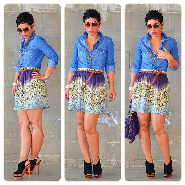 @Mimi G. Style We LOVE this #DIY tribal skirt you made! #joannhandmade