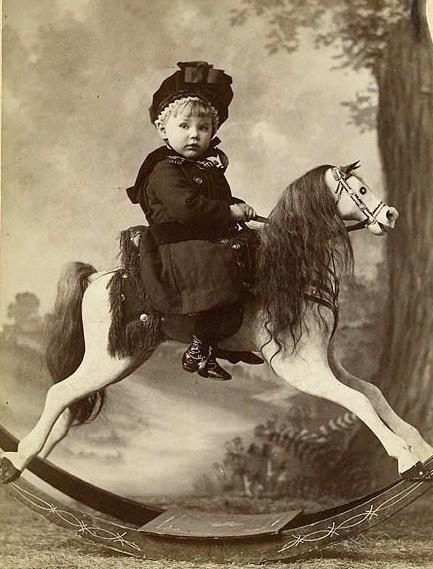 rocking horse...