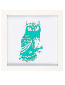 "Tilly@home Owl 8"" x 8"" 3D Art product photo"
