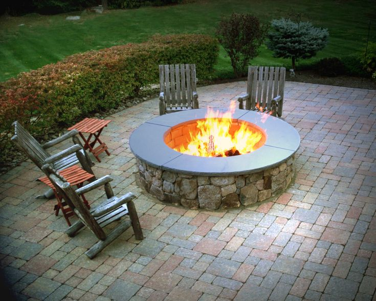 64 Best Ideas About Beautiful Stone Firepits On Pinterest