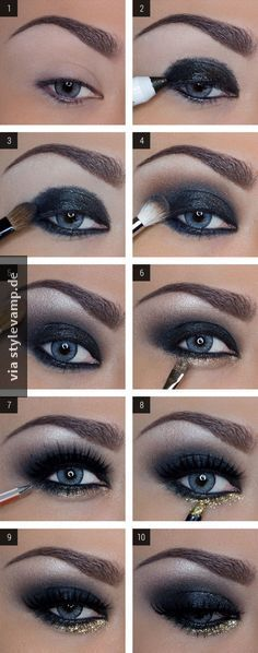 DAS perfekte Silvester Make-Up!