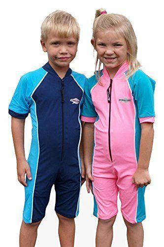 419474f89bb5a #beachaccessoriesstore UV Sun Protection Rash Guard Swim Suit for Boys Girls -SPF Protective 1-piece Swimwear -Sizes… #beachaccessoriesstore